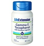 Life Extension Gamma E Tocopherol with Sesame Lignans