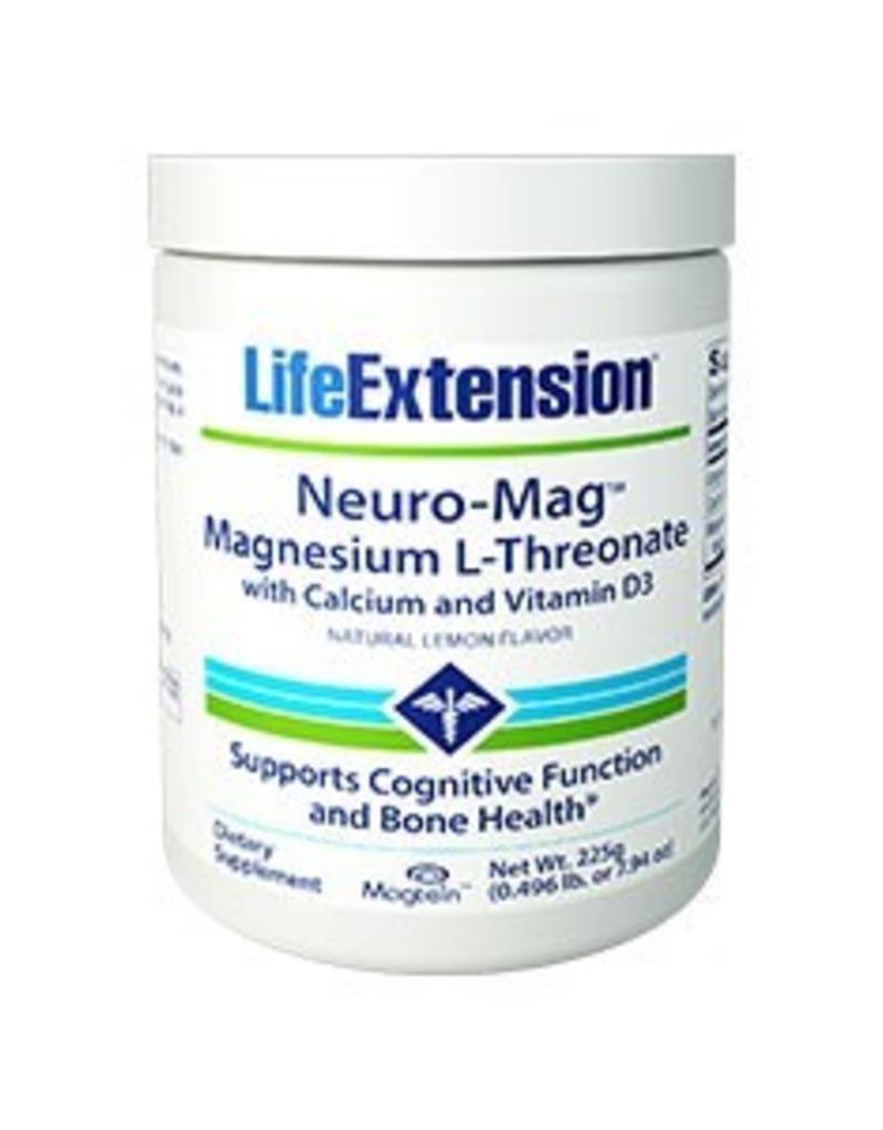 Life Extension Neuro-Mag Magnesium L-Threonate with Calcium and Vitamin D3