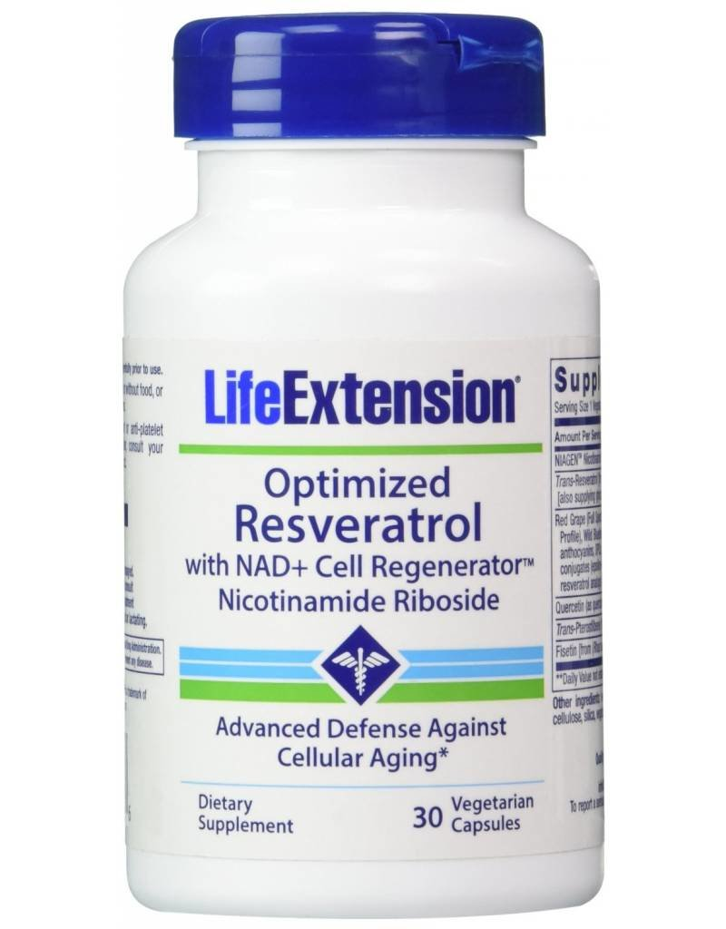 Life Extension Optimized Resveratrol with Nicotinamide Riboside