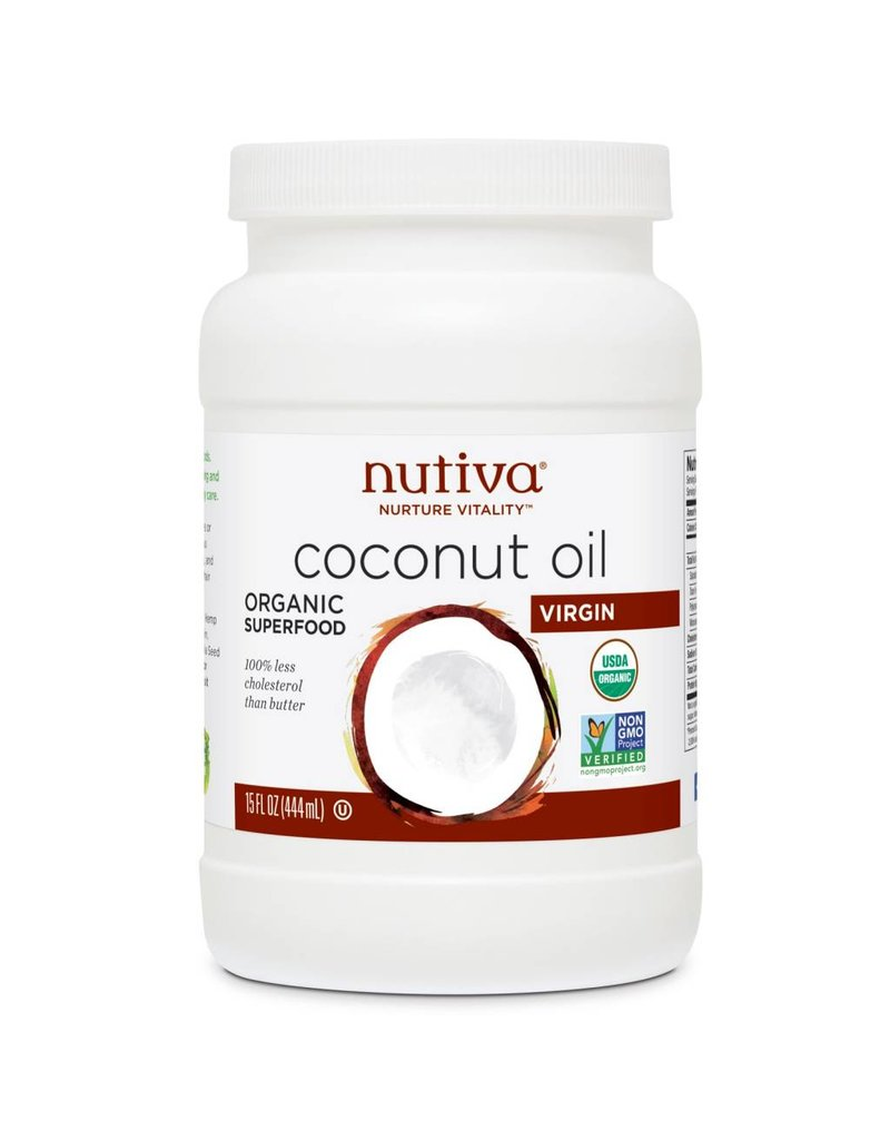 Nutiva, nurture vitality Organic Extra Virgin Coconut Oil