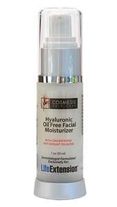 Life Extension Hyaluronic Oil-Free Facial Moisturiser