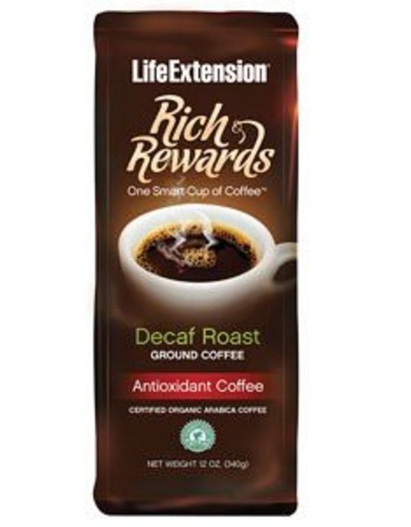 Life Extension Rich Rewards Decaf Roast