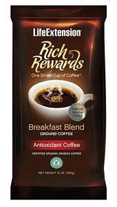 Life Extension Rich Rewards Breakfast Blend Natural Mocha Flavour