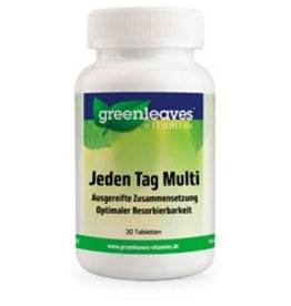 Greenleaves vitamins Jeden Tag Multi