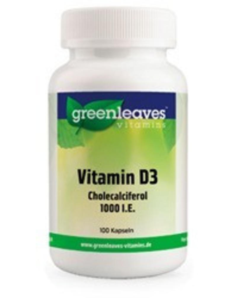 Greenleaves vitamins Vitamin D3 1000 I.e., 25 Mcg