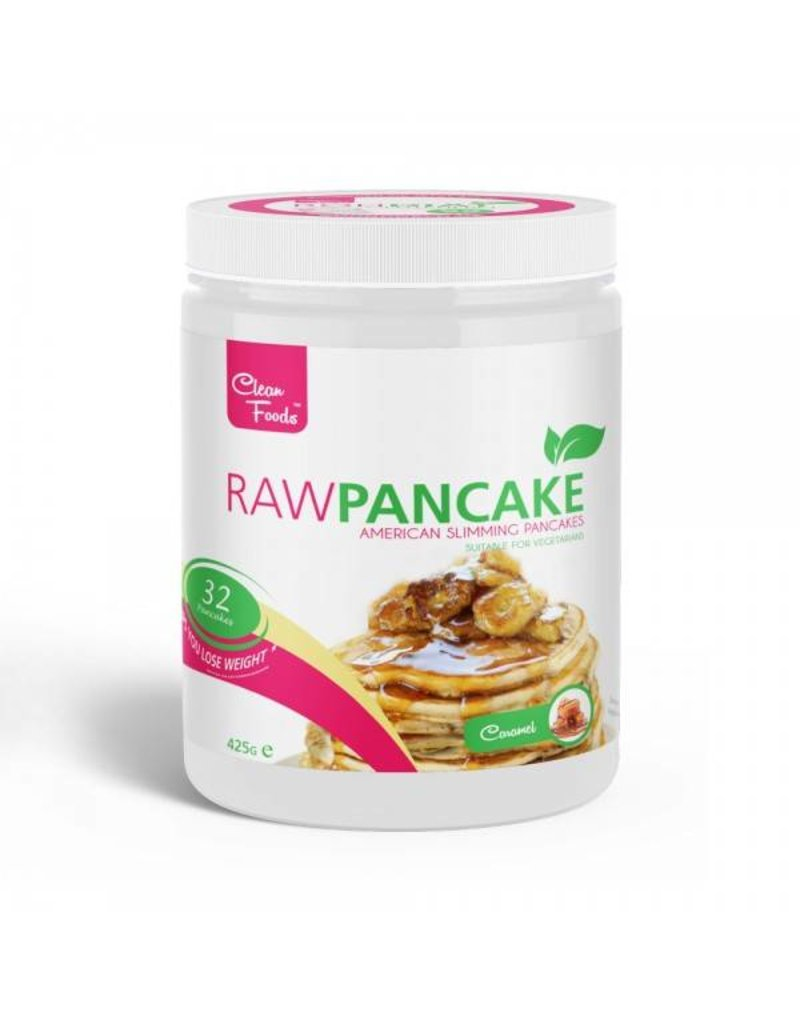 Cleanfoods Raw Pancakes Karamell