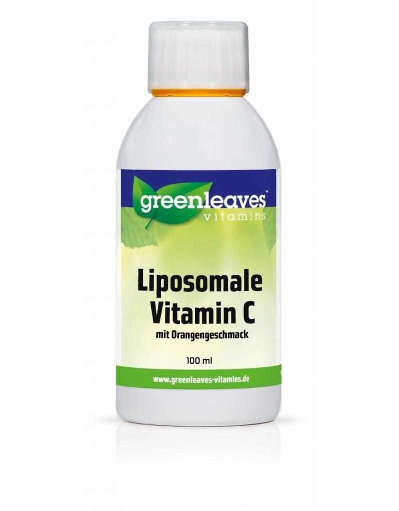 Greenleaves vitamins Liposomales Vitamin C Mit Orangengeschmack 100ml