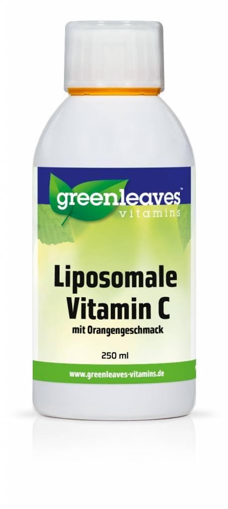 Greenleaves vitamins Liposomales Vitamin C Mit Orangengeschmack 250ml