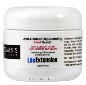 Life Extension Anti-Oxidant Rejuvenating Foot Scrub