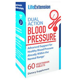 Life Extension Dual Action Blood Pressure, 60 Vegetarian Tablets