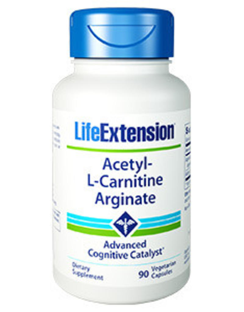 Life Extension Acetyl-l-carnitine Arginate, 90 Vegetarian Capsules