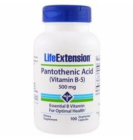 Life Extension Pathotenic Acid (vitamin B-5)