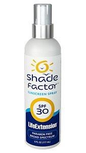 Life Extension Shade Factor Sunscreen Spray Spf 30