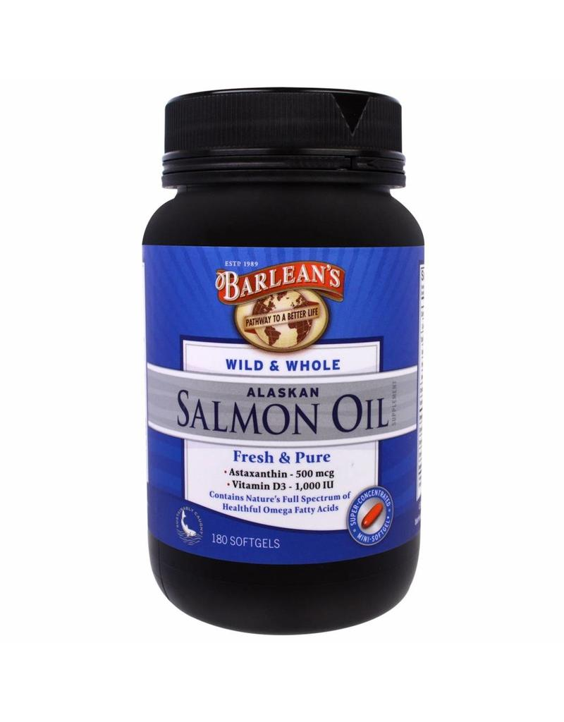 Barlean's Wild & Whole Alaskan Salmon Oil