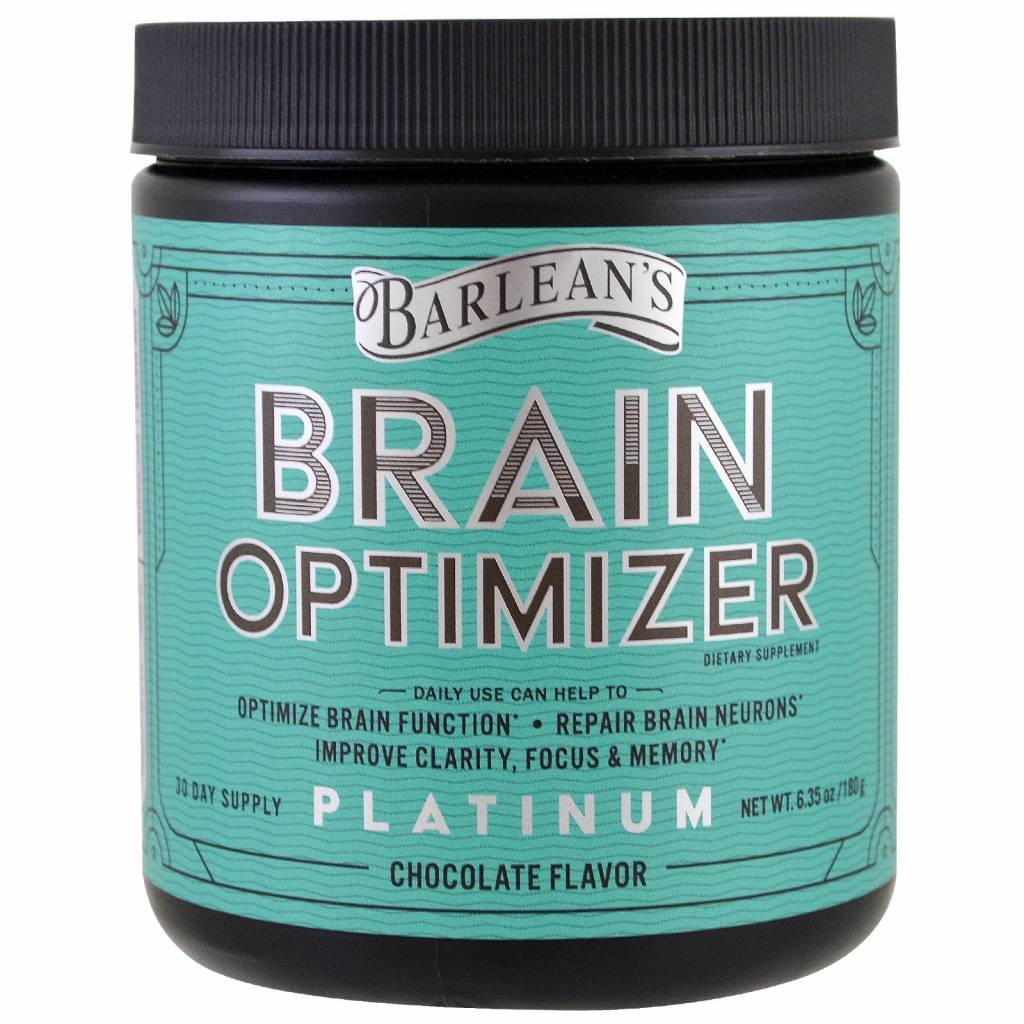 Barlean's Brain Optimizer, Chocolate Flavor