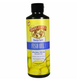 Barlean's Barlean's, Omega Swirl, Fish Oil, Lemon Zest,  16 Oz.(454g)
