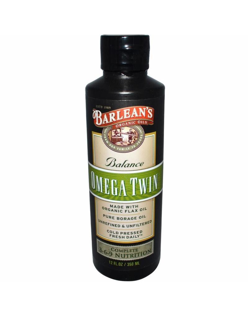 Barlean's Barlean's, Omega Twin, Complete 3-6-9 Nutrition, 12 Oz. (350ml)