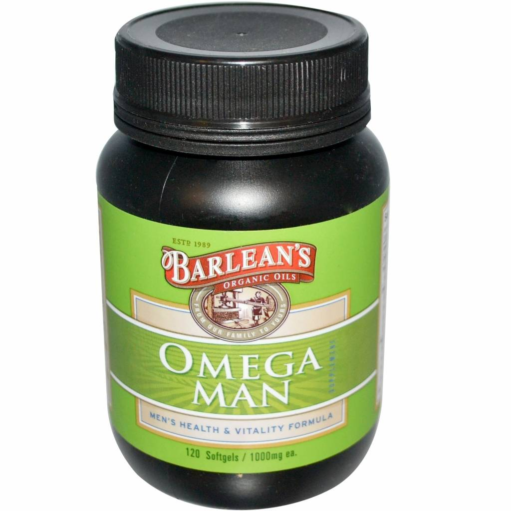 Barlean's Omega Man Supplement