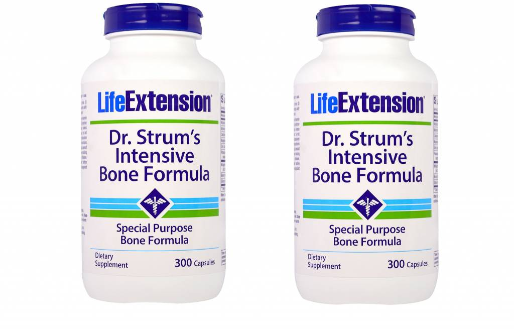 Life Extension Dr. Strum's Intensive Bone Formula, 2-pack