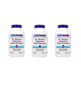 Life Extension Dr. Strum's Intensive Bone Formula, 3-pack