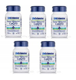 Life Extension Super Ubiquinol CoQ10, 5-pack