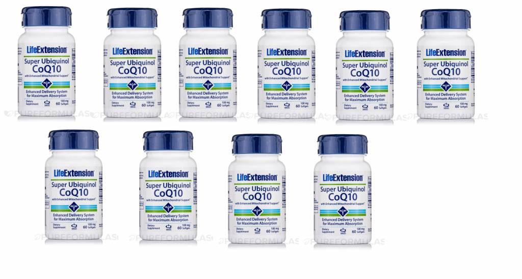 Life Extension Super Ubiquinol CoQ10, 10-pack