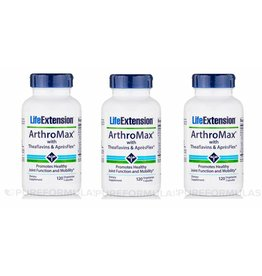 Life Extension Arthromax With Theaflavins & Aprèsflex, 3-pack