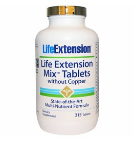 Life Extension Life Extension Mix Tablets Without Copper