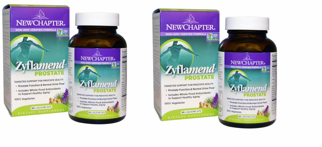 New Chapter Zyflamend Prostate- 60 Vegetarian Capsules, 2-pack