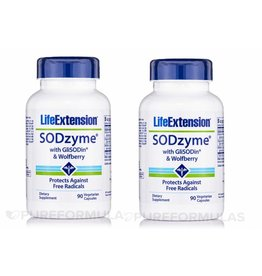 Life Extension Sodzyme® With Glisodin® & Wolfberry, 2-pack