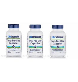 Life Extension Two-Per-Day Capsules, 3-pack