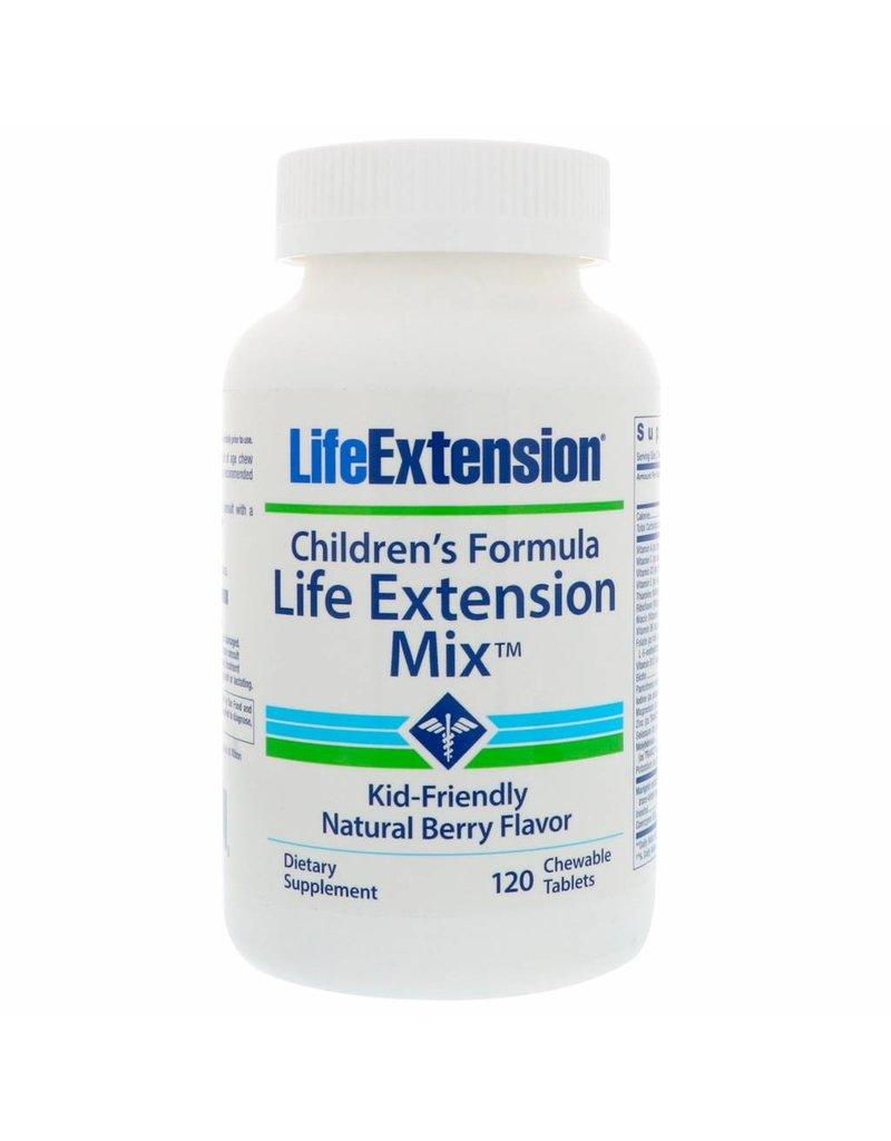 Life Extension Children's Formula Life Extension Mix, 120 chewable tablets