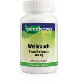 Greenleaves vitamins Weihrauch - Boswellia Serrata 350 Mg