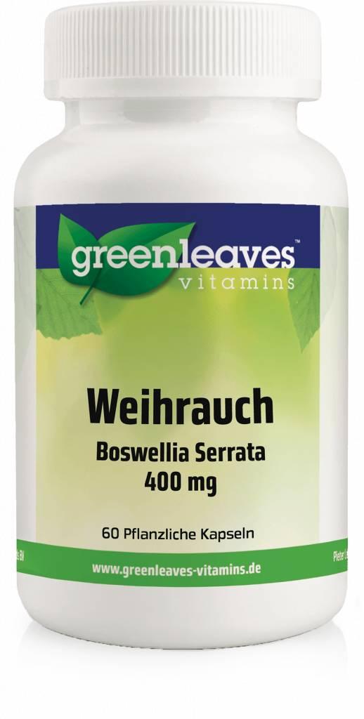 Greenleaves vitamins Weihrauch - Boswellia Serrata 350 Mg