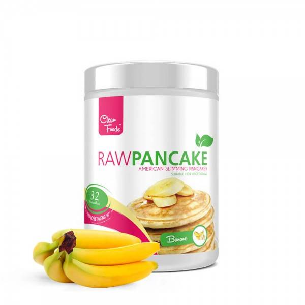 Cleanfoods Raw Pancakes Banana