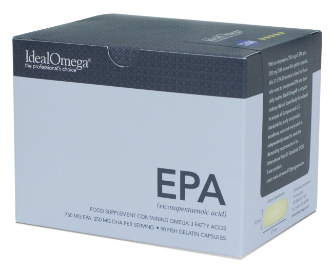 Life Extension Ideal Omega - Ideal Epa, 60ct