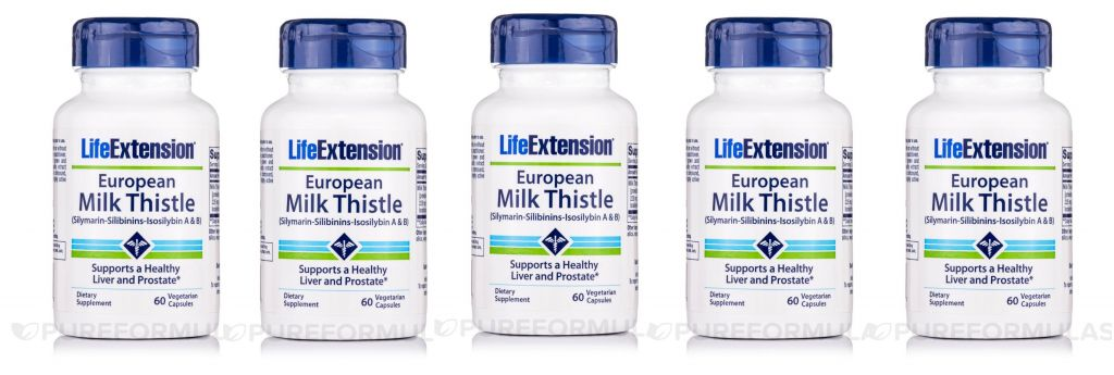 Life Extension Certified European Milk Thistle, 5-pack