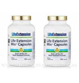 Life Extension Life Extension Mix Capsules, 100 Capsules, 100 Capsules, 2-pack