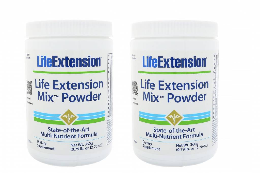 Life Extension Life Extension Mix Powder, 2-pack