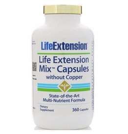 Life Extension Life Extension Mix Capsules Without Copper,  360 capsules
