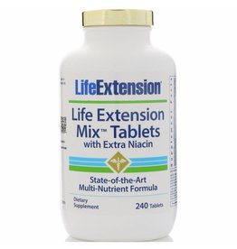 Life Extension Life Extension Mix Tablets With Extra Niacin, 240 Tablets