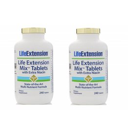 Life Extension Life Extension Mix Tablets With Extra Niacin, 240 Tablets, 2-pack
