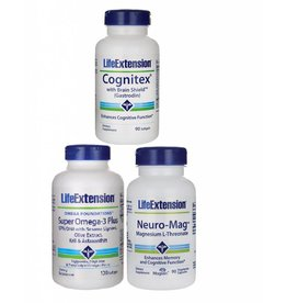 Life Extension Brain Super Kit | 30 Days Kit