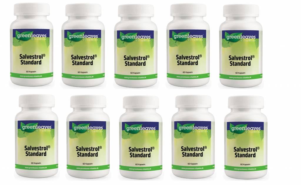 Greenleaves vitamins Salvestrol Standard, 10-pack