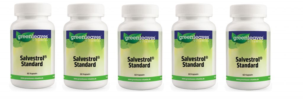 Greenleaves vitamins Salvestrol Standard, 5-pack