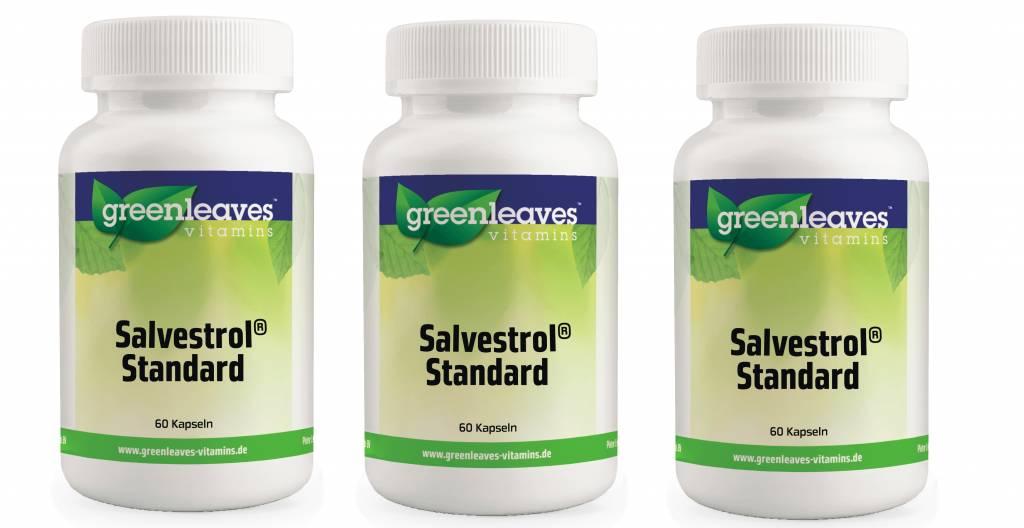 Greenleaves vitamins Salvestrol Standard, 3-pack