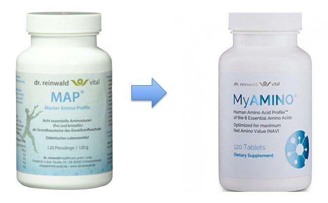 Dr. Reinwald Map ® Tablets (120 Tablets), 20-pack