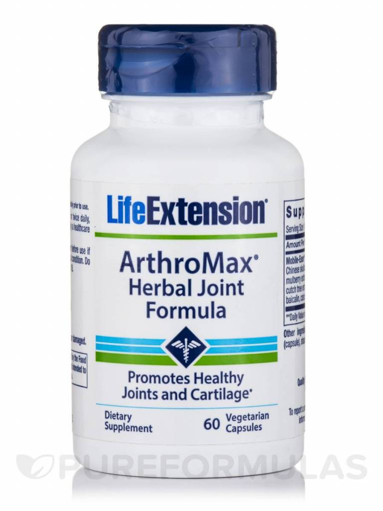 Life Extension Arthromax Herbal Joint Formula, 60 Vegetarian Capsules