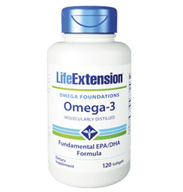 Life Extension Life Extension Omega-3, 120 Softgels