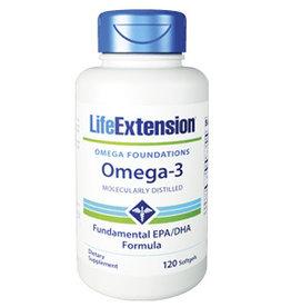 Life Extension Omega-3, 120 Softgels